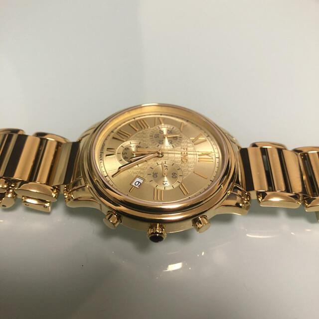 FENDI(フェンディ)のフェンディ  クロノグラフ  ゴールド 腕時計 美品 メンズ レディース メンズの時計(腕時計(アナログ))の商品写真