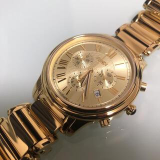 FENDI - フェンディ  クロノグラフ  ゴールド 腕時計 美品 メンズ レディース