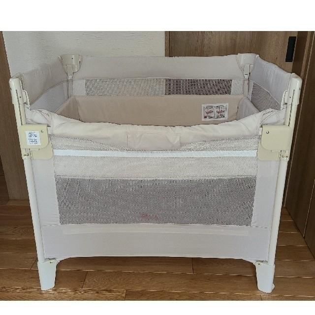 Aprica(アップリカ)のココネルエアー Aprica ベビーベッド  キッズ/ベビー/マタニティの寝具/家具(ベビーベッド)の商品写真