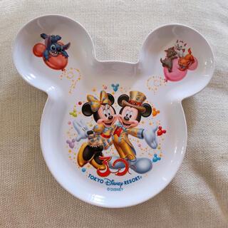 ディズニー(Disney)のディズニー30周年記念スーベニアプレート ミッキーの形のお皿(食器)
