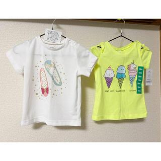 カーターズ(carter's)のグローバルワーク カーターズ Tシャツ セット 80サイズ(Tシャツ)