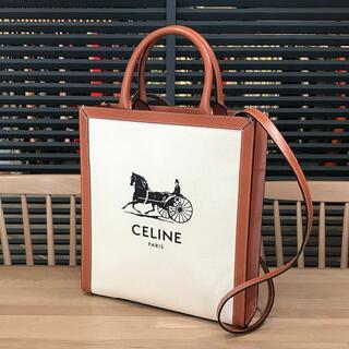 celine - 新品未使用 セリーヌ 現行 スモール バーティカルカバ 2WAY ハンドバッグ