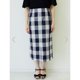 テチチ(Techichi)のテチチ/Te chichi ブロックギンガムスカート ¥6,930(税込)(ロングスカート)