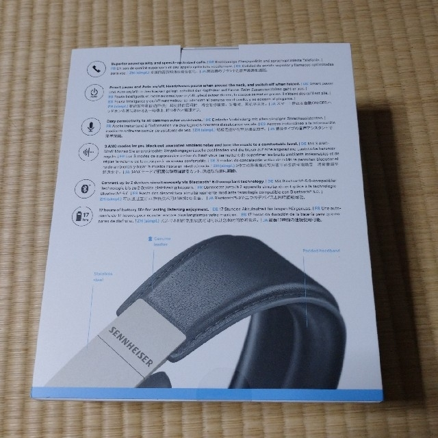 SENNHEISER(ゼンハイザー)のゼンハイザー MOMENTUM Wireless M3AEBTXL BLACK  スマホ/家電/カメラのオーディオ機器(ヘッドフォン/イヤフォン)の商品写真