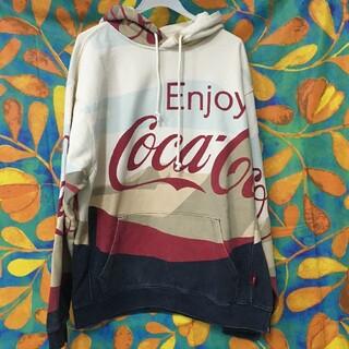kith×coca cola パーカー(パーカー)