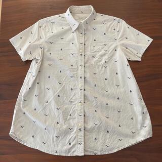 グローバルワーク(GLOBAL WORK)の半袖2wayシャツ(シャツ/ブラウス(半袖/袖なし))