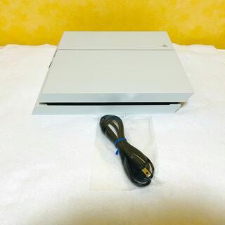 PlayStation4 - 美品☆ PS4 プレステ4 本体 CUH-1200A 500G ホワイト