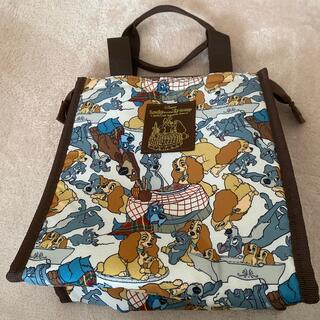 ディズニー(Disney)のなのはな様用 美品 わんわん物語保冷バッグ お弁当 ランチバッグ(ランチボックス巾着)