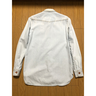 オフホワイト(OFF-WHITE)のオフホワイト  デニムシャツ (Gジャン/デニムジャケット)