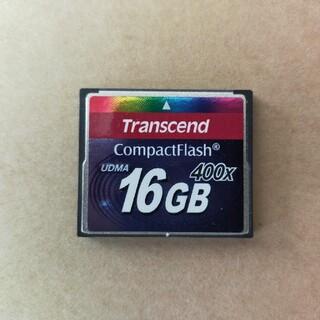 トランセンド(Transcend)のコンパクトフラッシュ16GB(その他)