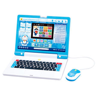 バンダイナムコエンターテインメント(BANDAI NAMCO Entertainment)の新品未使用 ドラえもんラーニングパソコン(知育玩具)