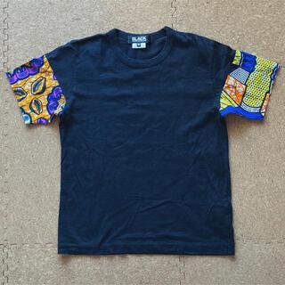 ブラックコムデギャルソン(BLACK COMME des GARCONS)の【みーちゃん様】ブラックコムデギャルソンのアフリカ柄Tシャツ(カットソー(半袖/袖なし))