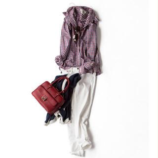 L'Appartement DEUXIEME CLASSE - kkcloset アパルトモン×レミレリーフ 襟ワイヤー入りチェックシャツ