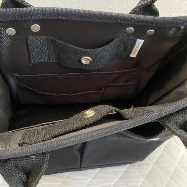 quatre saisons(キャトルセゾン)のキャトルセゾン ベジバッグ S ブラック レディースのバッグ(ハンドバッグ)の商品写真