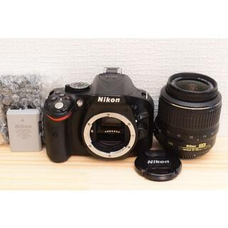 ニコン(Nikon)のG20/ Nikon D5200 ボディ レンズセット /3433-14(デジタル一眼)