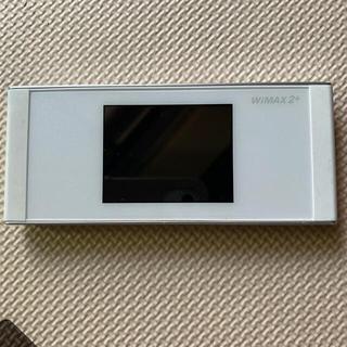Speed Wi-Fi NEXT W05 UQ WiMAX版 白(その他)