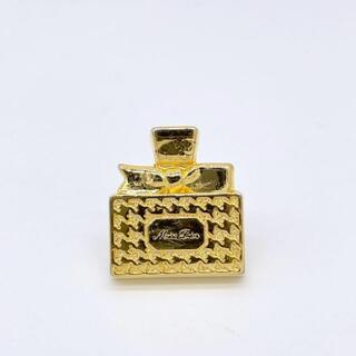クリスチャンディオール(Christian Dior)の【入手困難】クリスチャン ディオール ピンブローチ 香水 ゴールド Q9(ブローチ/コサージュ)