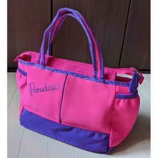 Paradiso - PARADISO パラディーゾ●テニス コートバッグ ピンク