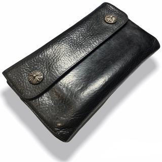 クロムハーツ(Chrome Hearts)のクロムハーツ ウェーブウォレット 財布(長財布)