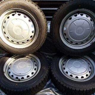 ダンロップ(DUNLOP)のスタッドレスタイヤ 185/65R15(タイヤ・ホイールセット)