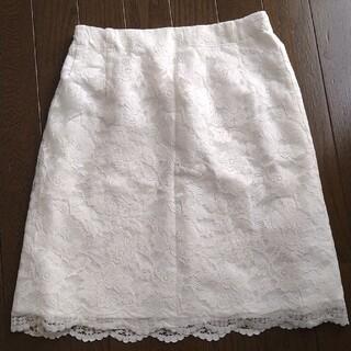 マーキュリーデュオ(MERCURYDUO)のレーススカート(ひざ丈スカート)
