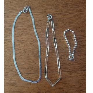ジーナシス(JEANASIS)のネックレス、ブレスレットセット(ネックレス)