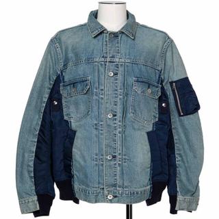 sacai - sacai Denim MA-1 Jacket