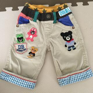 ダブルビー(DOUBLE.B)のダブルビー 豪華刺繍パンツ サイズ100(パンツ/スパッツ)