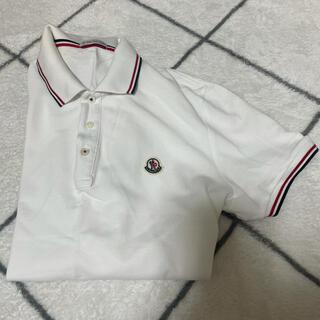 MONCLER - モンクレール 白ポロシャツ