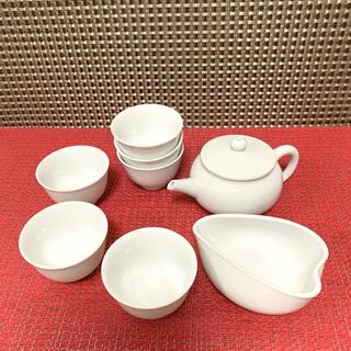 【煎茶道具 煎茶器】 煎茶器セット(湯のみ 6客・急須・湯さまし)