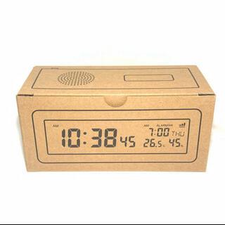 ムジルシリョウヒン(MUJI (無印良品))の無印良品 デジタル電波時計(置時計)