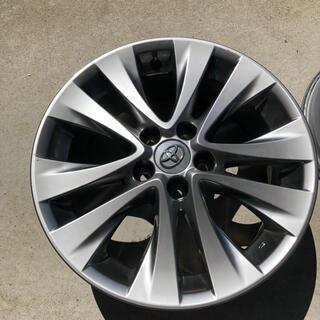 トヨタ(トヨタ)のヴェルファイア 20 純正18インチ 4本(ホイール)