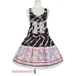 アンジェリックプリティー(Angelic Pretty)のMelody Toysサロペット(サロペット/オーバーオール)
