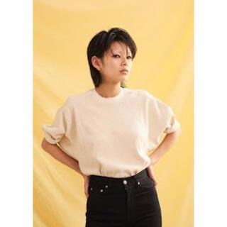 ジョンリンクス(jonnlynx)の【新品未使用】jonnlynx  big rib tee(Tシャツ(半袖/袖なし))
