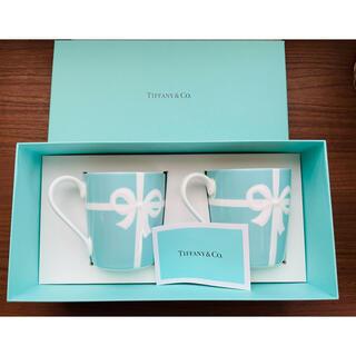 Tiffany & Co. - TIFFANY&Co ティファニー マグカップ ブルー リボン