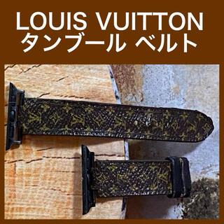 ルイヴィトン(LOUIS VUITTON)のLOUIS VUITTON タンブール 腕時計 ベルト 尾錠なし (腕時計(アナログ))