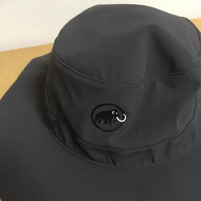 Mammut(マムート)のMAMMUT RUNBOLD HATマムートランボルドハット黒L メンズの帽子(ハット)の商品写真