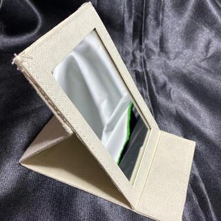 スタンドミラー 折りたたみ鏡(卓上ミラー)