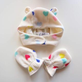ベビーギャップ(babyGAP)のハート柄 帽子 手袋(帽子)