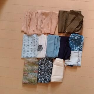 着物生地 ハギレ 色々(生地/糸)