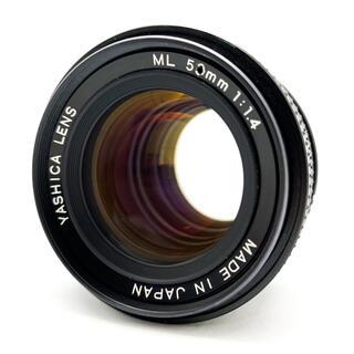 リコー(RICOH)のYASHICA LENS ML 50mm F1.4 富岡光学製(レンズ(単焦点))