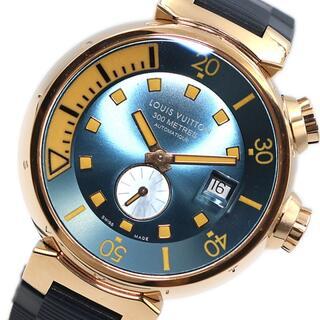 ルイヴィトン(LOUIS VUITTON)のルイ・ヴィトン LOUIS VUITTON タンブ-ルダイバー 腕時計【中古】(腕時計(アナログ))