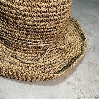 ムジルシリョウヒン(MUJI (無印良品))のアプリコットメルバ様専用 無印良品 麦わら帽子(麦わら帽子/ストローハット)