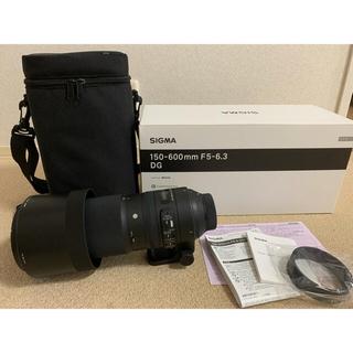SIGMA - 望遠レンズ SIGMA150-600mm F5-6.3 Nikon用