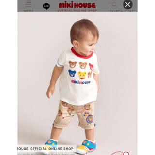 mikihouse - 新品 ミキハウス 半袖Tシャツ 新作 110