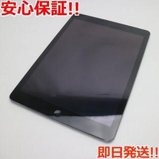 アップル(Apple)の美品 au iPad Air Cellular 16GB グレイ (タブレット)