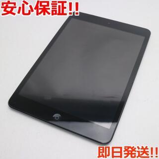 アップル(Apple)の良品中古 iPad mini Wi-Fi+cellular64GB ブラック (タブレット)