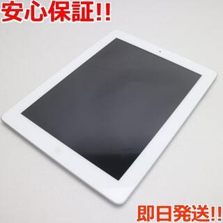アップル(Apple)の美品 iPad第4世代Wi-Fi64GB ホワイト (タブレット)