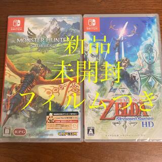 ニンテンドースイッチ(Nintendo Switch)のモンスターハンターストーリーズ2 ゼルダの伝説 スカイウォードソードSwitch(家庭用ゲームソフト)