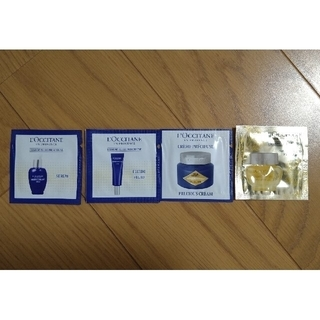 L'OCCITANE - ロクシタン IMプレシューズ3種各50枚、IMアイバーム50枚  計200枚